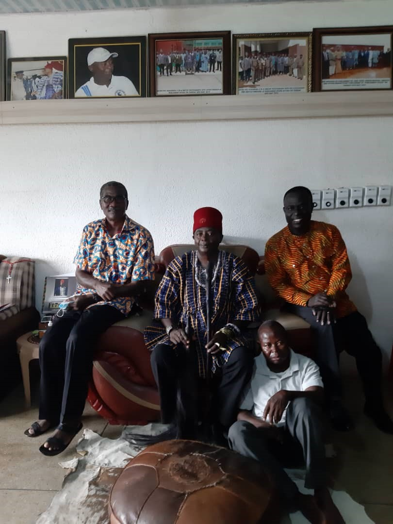VC of ckt-utas paid a courtesy call on chief of Navrongo