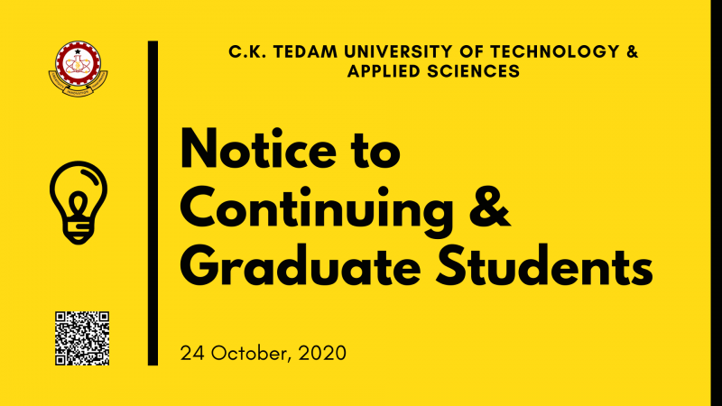 cktutas notice to students october 24 2020