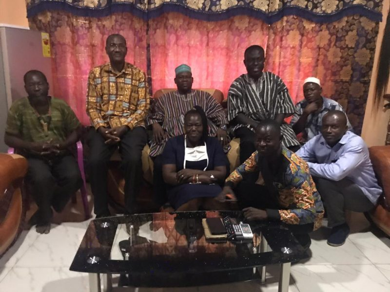 vc of cktutas visits chief of paga and kologo traditional area 3