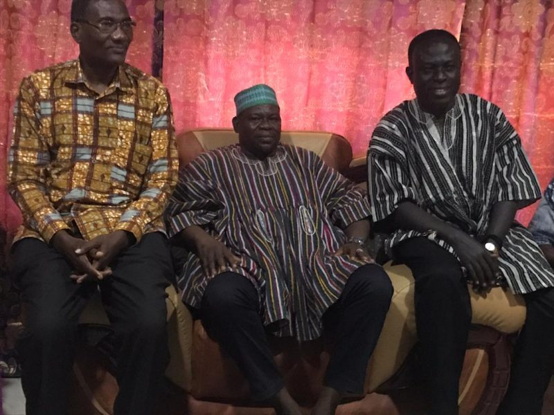 vc of cktutas visits chief of paga and kologo traditional area 5