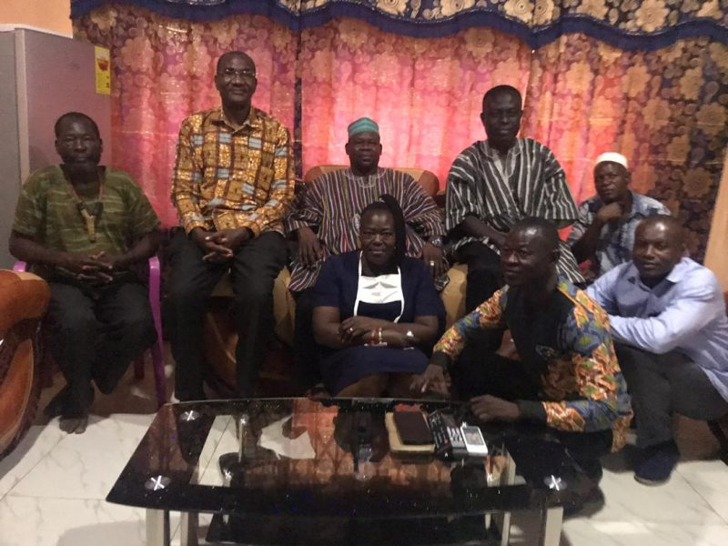 vc of cktutas visits chief of paga and kologo traditional area 6